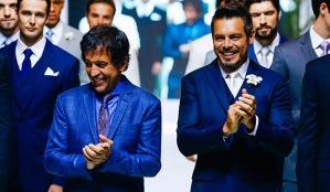 Ricardo Almeida e Luigi Baricelli
