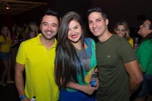 Anderson Siqueira, Aline Santos e Rafael Fildes_Foto_Rômulo Juracy