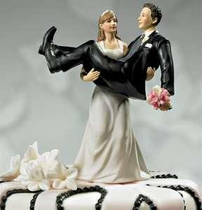 O noivo deixou  o posto de coadjuvante na cerimônia para  se tornar, de fato, ator principal