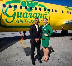 Cafu-ClaudiaLeitte-AviaoGuarana