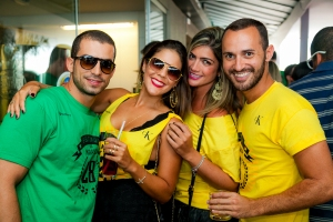 Cristiano Bernardes, Carol Alvarenga, Tabata Aragão e Gabriel Coutinho_Foto_Felipe Menezes