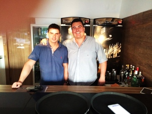 Rafael Montenegro e Marcus Pedrosa