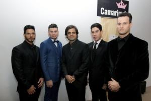Jão Camargo e alguns dos modelos que desfilaram sua coleção - crédito IFF Fotografia