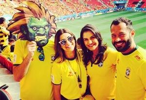 Mané Garrincha é o segundo estádio em número de auto-retratos durante a Copa