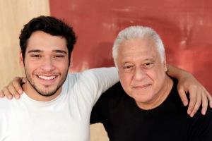 TQ SAO PAULO 20.02.2012 OE CADERNO2 EXCLUSIVO EMBARGADO Entrevista com os atores Antonio Fagundes e Bruno Fagundes (pai e filho) que farão peça