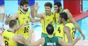 Liga Mundial de Vôlei: Brasil vence Itália por 3 sets a 0 na semi