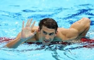 Michael Phelps faz melhor tempo do mundo em 2014 nos 100m borboleta
