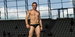 """Tom Daley é eleito o homem mais   sexy do mundo pela """"Attitude"""""""